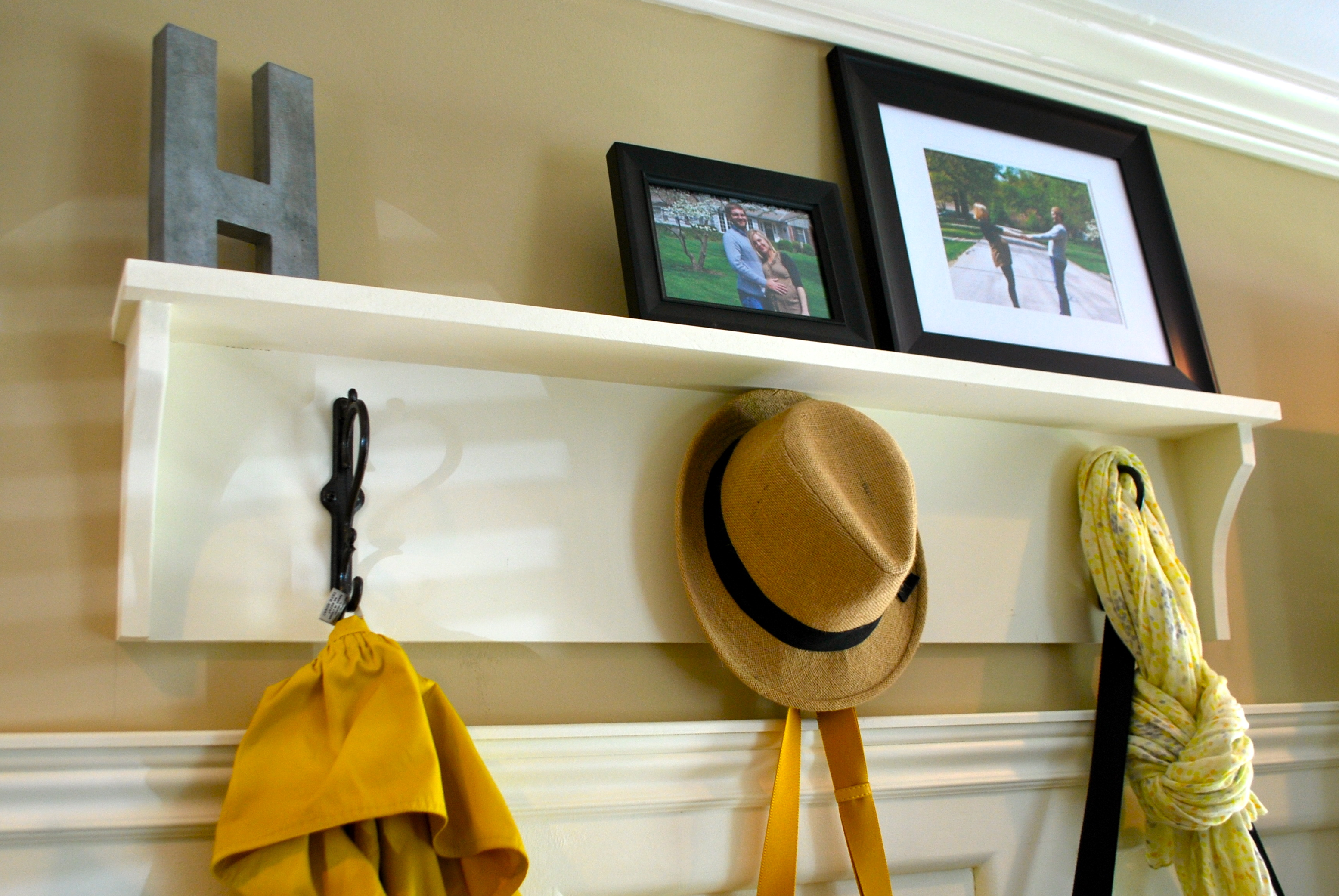 Building A Coat Rack With Shelf