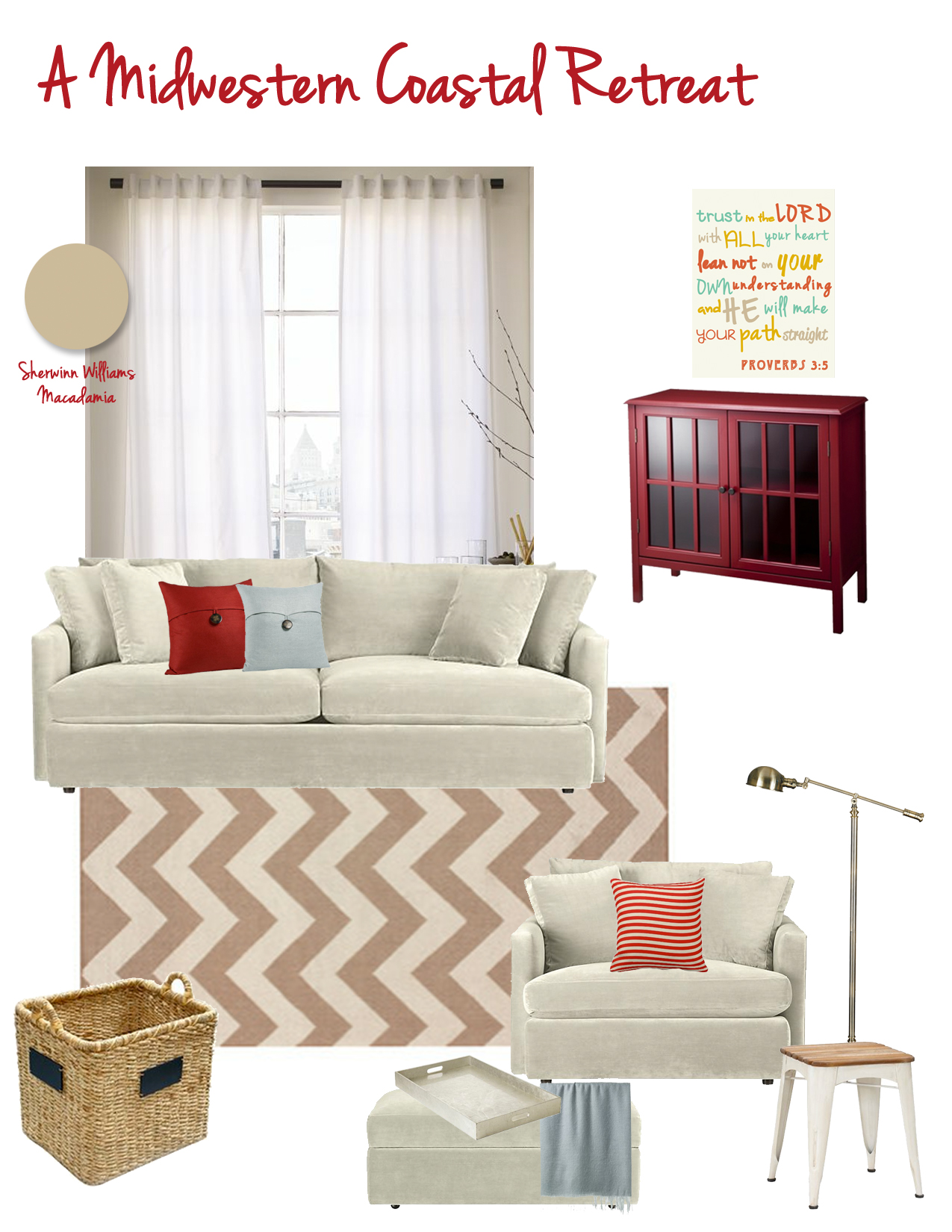 living room design | The Suburban Urbanist