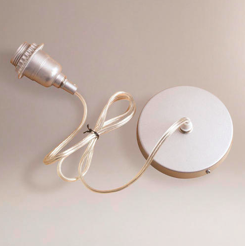 DIY Pendant Shade Light  The Suburban Urbanist